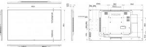 "Ecran profesional LFD Monitor Signage Philips 65"" FHD 24/7 450nitnit Android 4.4.4 CMND Create Conectivitate: INPUT: 1xD-SUB, 1xDVI, 1xDP, 2xHDMI, 2xUSB, 1xUSB 5V2A, 1xLAN, 1xRS232C, 1xIR; - imaginea 2"