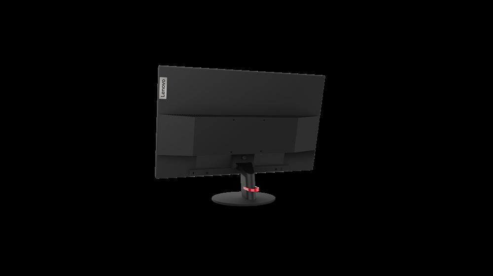 """Monitor Lenovo ThinkVision S24q-1023.8"""" IPS, QHD (2560x1440), 16:9 ,Luminozitate: 300 nits, Contrast ratio: 1000:1, Response time: 4 ms(Extreme mode) / 6 ms (Typical mode) / 14 ms (off mode), Dot / Pixel PerInch: 124dpi, Color Gamut: 99% sRGB, View angle: 178 / 178, Stand: TiltStand, Side Bezel - imaginea 7"""