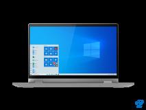 "Laptop Lenovo IdeaPad Flex 514ITL05, 14"" FHD (1920x1080) IPS 250nits Glossy, 45% NTSC, Intel Core i5-1135G7 (4C / 8T, 2.4 / 4.2GHz, 8MB), video Integrated Intel Iris Xe Graphics, RAM 8GB Soldered DDR4-3200, SSD 512GB SSD M.2 2280 PCIe 3.0x4 NVMe, no ODD, 4-in-1 Card Reader, Stereo speakers, 2W x2 - imaginea 14"