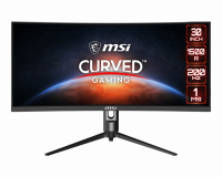 "Monitor Gaming 29.5"" MSI Optix MAG301CR2, Curved, LED, Panel Type VA, WFHD 2560 x 1080, 200Hz, 21:9, Anti-glare, Display colors 1.07B (8bits + FRC), FreeSync Premium, Frameless design, Curvature 1500R, 1ms (MPRT), 300 cd/m², 3000:1 static / 100000000:1 dinamic, 178° (H) / 178° (V), Porturi: 1x - imaginea 1"