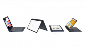 """Laptop Lenovo Yoga 6 13ARE05, 13.3"""" FHD (1920x1080) IPS 300nits Glossy, 72% NTSC, 10-point Multi-touch, AMD Ryzen 5 4500U (6C / 6T, 2.3 / 4.0GHz, 3MB L2 / 8MB L3), video Integrated AMD Radeon Graphics, RAM 16GB Soldered DDR4-3200, SSD 1TB SSD M.2 2280 PCIe 3.0x4 NVMe, no ODD, No Card reader, Stereo - imaginea 2"""