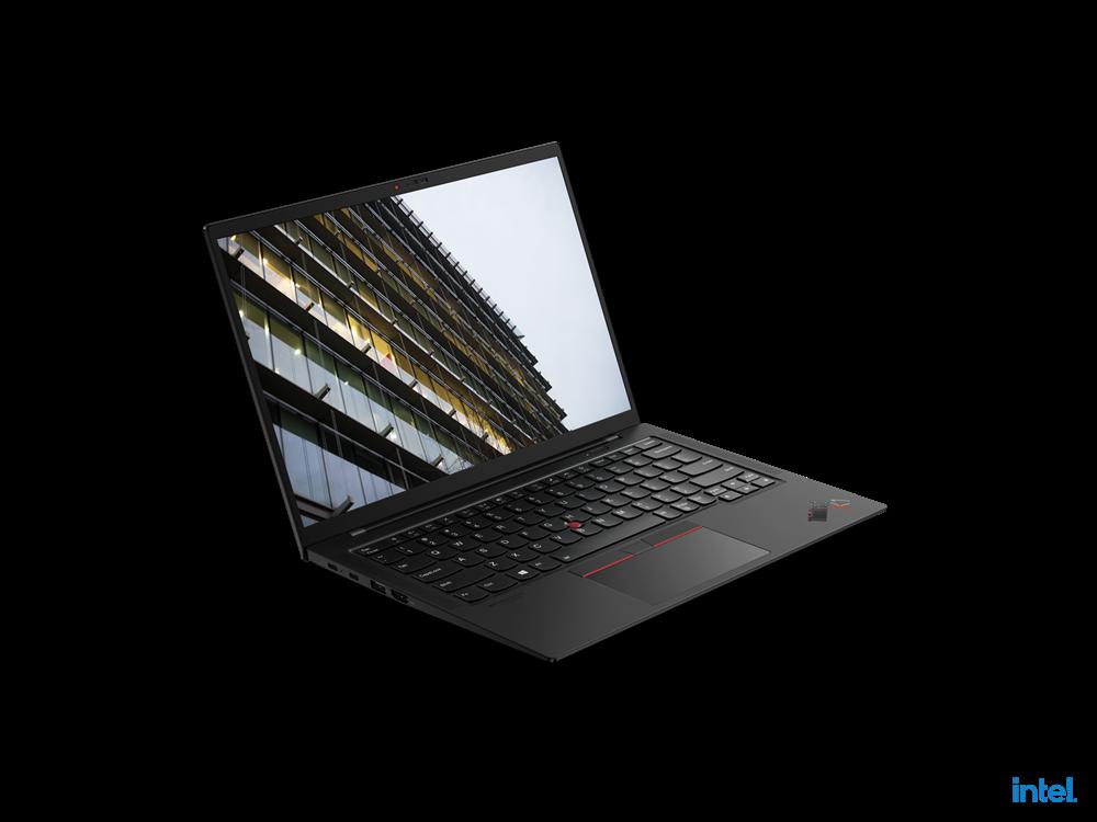 "Laptop Lenovo ThinkPad X1 Carbon Gen 9, 14"" UHD+ (3840x2400) IPS 500nits Glossy, HDR 400, Intel Core i7-1165G7 (4C / 8T, 2.8 / 4.7GHz, 12MB), Video Integrated Intel Iris Xe Graphics, RAM 16GB Soldered LPDDR4x-4266, SSD 512GB SSD M.2 2280 PCIe 4.0x4 Performance NVMe Opal2, Optical: no ODD, No card - imaginea 2"