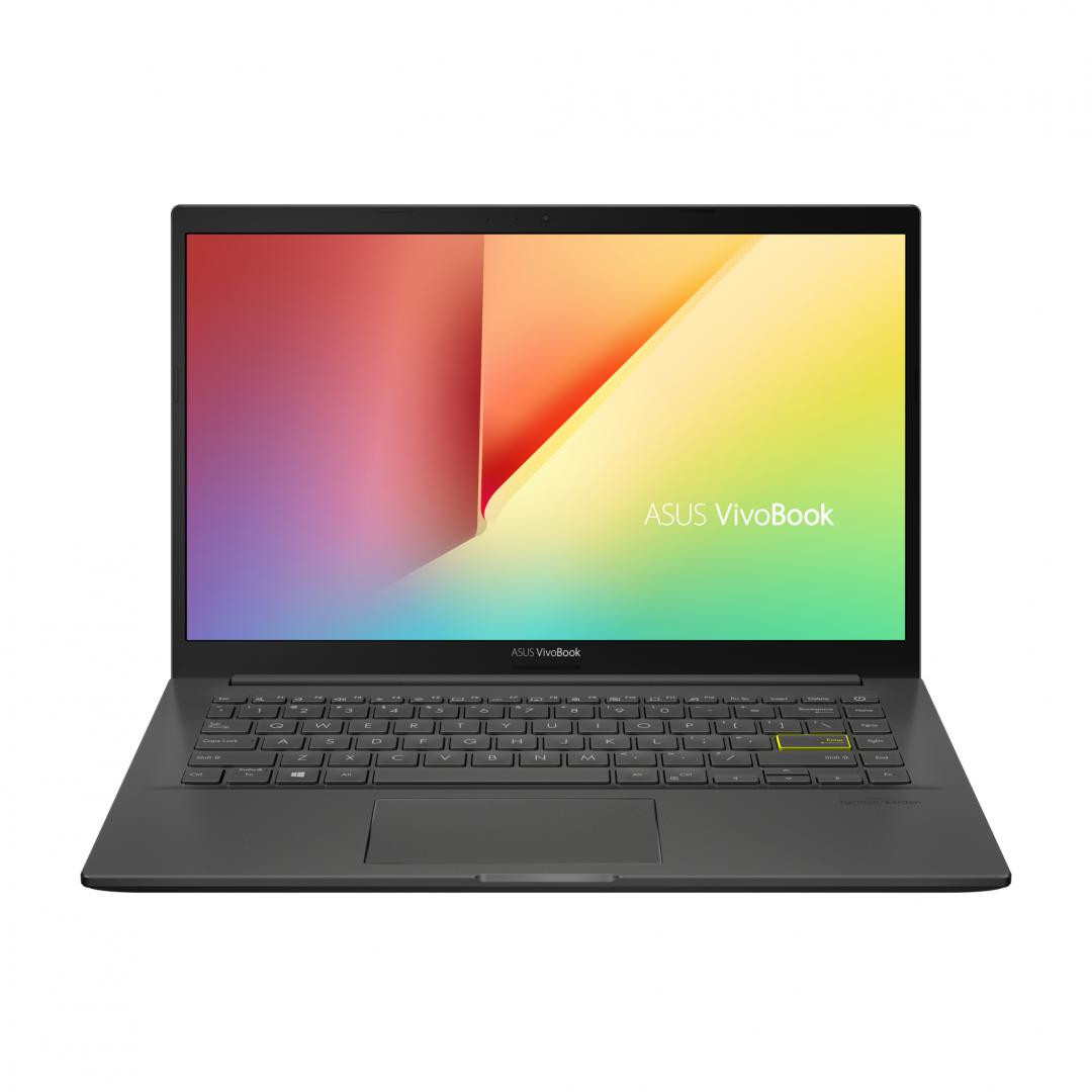 Laptop ASUS VivoBook K413JA-EB534, 14.0-inch, FHD (1920 x 1080) 16:9, Anti-glare display, IPS-level Panel, Intel® Core™ i5-1035G1 Processor 1.0 GHz (6M Cache, up to 3.6 GHz, 4 cores), Intel® UHD Graphics, 8GB DDR4 on board, 512GB M.2 NVMe™ PCIe® 3.0 SSD, Wi-Fi 6(802.11ax) +Bluetooth 5.0 (Dual band) - imaginea 3