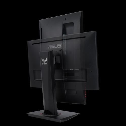 "Monitor 23.8"" ASUS VG249Q, Gaming, 16:9, IPS, FHD 1920*1080, 250 cd/mp, 1000:1, 178/178, 1 ms, flicker free, 144 Hz, non glare, Low Blue Light, FreeSync technology supported, Shadow Boost, boxe 2*2W, HDMI, DP, D-sub, pivot, VESA 100x100, frameless, Kensington lock, culoare negru - imaginea 3"
