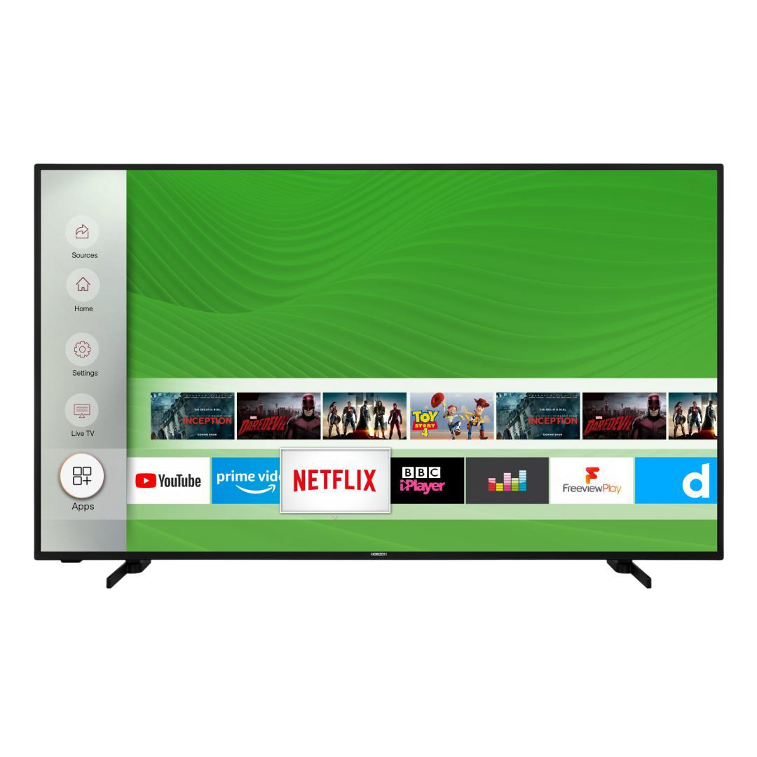 "LED TV HORIZON 4K-SMART 55HL7530U/B, 55"" D-LED, 4K Ultra HD (2160p), HDR10 / HLG + MicroDimming, Digital TV-Tuner DVB-S2/T2/C, CME 400Hz, HOS 3.0 SmartTV-UI (WiFi built-in) +Netflix +AmazonAlexa +Youtube, 1xLAN (RJ45), Wireless Display, DLNA 1.5, Contrast 6000:1, 350 cd/m2, 1xCI+, 3xHDMI, 2xUSB - imaginea 1"
