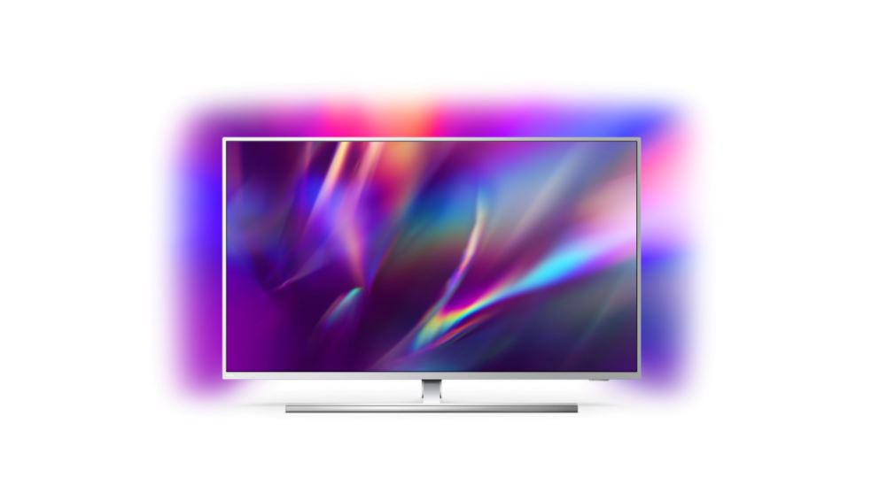 Televizor, PHILIPS, 65PUS8545/12, 164 cm, Smart Android, 4K Ultra HD, LED, Clasa G, HDR, Android, YouTube, Netflix, HBOGo, Comenzi vocale, Asistent vocal inteligent, Screen Mirroring, Ambilight, Google assistant, Quad core, 3840 x 2160, HLG, Dolby Vision, HDR 10+, Procesor P5 Perfect Picture, DVB-C - imaginea 1