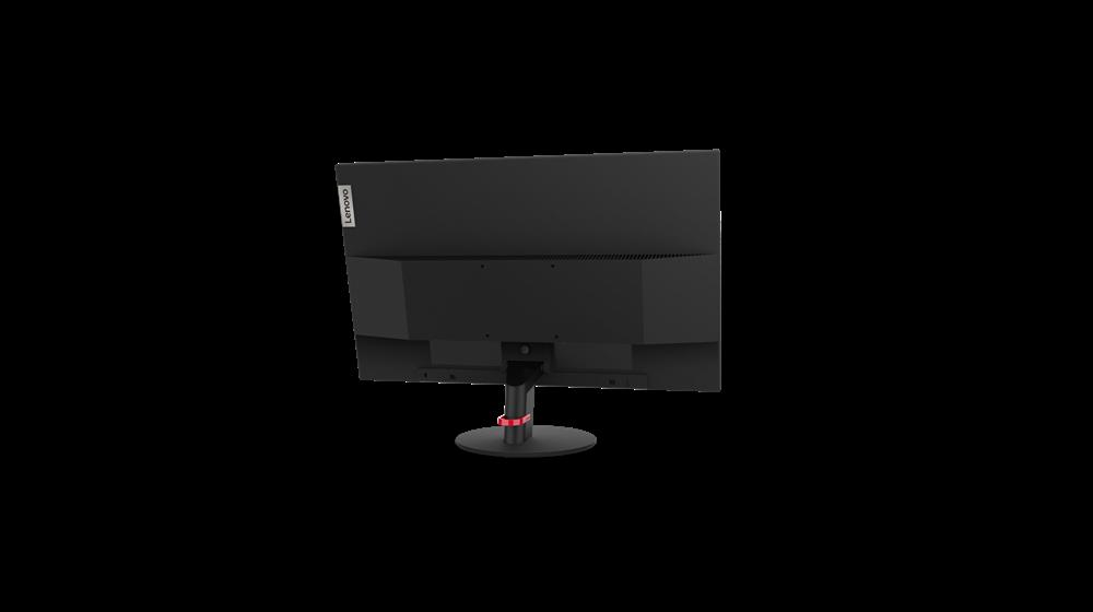 """Monitor Lenovo ThinkVision S24q-1023.8"""" IPS, QHD (2560x1440), 16:9 ,Luminozitate: 300 nits, Contrast ratio: 1000:1, Response time: 4 ms(Extreme mode) / 6 ms (Typical mode) / 14 ms (off mode), Dot / Pixel PerInch: 124dpi, Color Gamut: 99% sRGB, View angle: 178 / 178, Stand: TiltStand, Side Bezel - imaginea 6"""