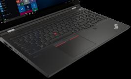 "Laptop Lenovo ThinkPad P15 Gen 2, 15.6"" FHD (1920x1080) IPS 500nits Anti-glare, 100% sRGB, Dolby Vision, Intel Core i7-11850H (8C / 16T, 2.5 / 4.8GHz, 24MB), Video NVIDIA RTX A2000 4GB GDDR6, RAM 2x 16GB SO-DIMM DDR4-3200 Non-ECC, SSD 1TB SSD M.2 2280 PCIe 4.0 NVMe Opal2, Optical: no ODD, SD Reader - imaginea 15"