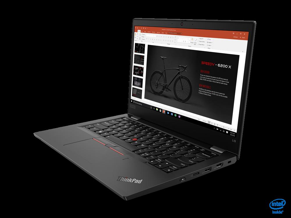 """Laptop Lenovo ThinkPad L13, 13.3"""" FHD (1920x1080) i5-10210U 8GB 256GB 1YD DOS - imaginea 3"""