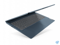 """Laptop Lenovo IdeaPad 5 15ITL05, 15.6"""" FHD (1920x1080) IPS 300nits Anti- glare, 45% NTSC, Intel Core i5-1135G7 (4C / 8T, 2.4 / 4.2GHz, 8MB), video Integrated Intel Iris Xe Graphics, RAM 8GB Soldered DDR4-3200, SSD 512GB SSD M.2 2242 PCIe 3.0x2 NVMe, no ODD, 4-in-1 Card Reader, Stereo speakers, 2W - imaginea 1"""