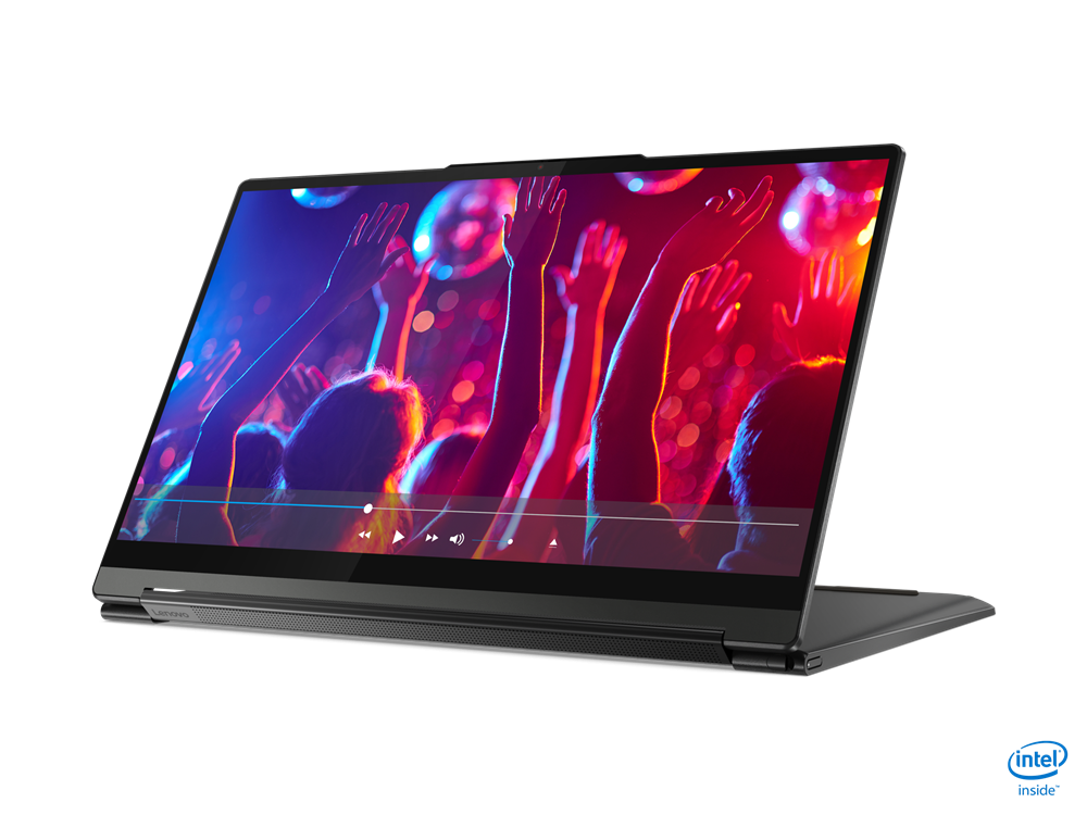 """Laptop Lenovo Yoga 7 14ITL5, 14"""" FHD (1920x1080) IPS 300nits Glossy, 72% NTSC, AGC Dragontrail glass, 10-point Multi-touch, Intel Core i7-1165G7 (4C / 8T, 2.8 / 4.7GHz, 12MB), video Integrated Intel Iris Xe Graphics, RAM 16GB Soldered DDR4-3200, SSD 1TB SSD M.2 2280 PCIe 3.0x4 NVMe, no ODD, No Card - imaginea 7"""