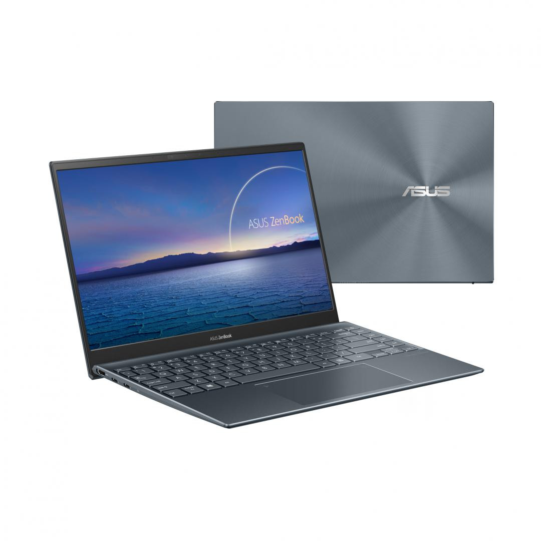 UltraBook ASUS ZenBook  14 UX425EA-KI391T, 14.0-inch, FHD (1920 x 1080) 16:9, Anti-glare display, IPS-level Panel, Intel® Core™ i5-1135G7 Processor 2.4 GHz (8M Cache, up to 4.2 GHz, 4 cores), Intel Iris Xᵉ Graphics (available for 11th Gen Intel® Core™ i5/i7 with dual channel memory), 16GB LPDDR4X on - imaginea 3