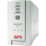 UPS APC Back-UPS CS stand-by 650VA / 400W 4 conectori C13, baterieRBC17, optional extindere garantie cu 1/3 ani (WBEXTWAR1YR-SP-01/W BEXTWAR3YR-SP-01) - imaginea 1