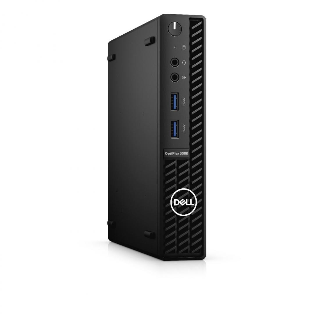 Desktop Dell OptiPlex 3080 MFF, i3-10105T, 8GB, 256GB SSD, W10 Pro - imaginea 1