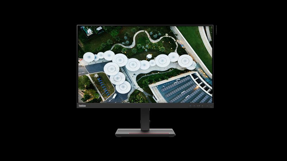"Monitor Lenovo ThinkVision S24e-2023.8"" VA, FHD (1920x1080), 16:9 ,Luminozitate: 250 nits, Contrast ratio: 3000:1, Response time: 4 ms(Extreme mode) / 6 ms (normal mode), Dot / Pixel Per Inch: 93 dpi, ColorGamut: 72% NTSC, View angle: 178 / 178, Stand: Tilt Stand, Side BezelWidth: 2.5 mm, Dimensiune - imaginea 1"