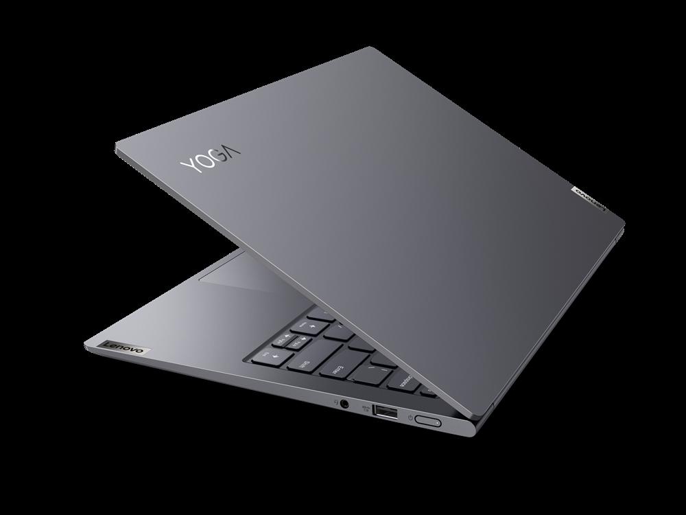"Laptop Lenovo Yoga Slim 7 Pro 14ACH5, 14"" 2.2K (2240x1400) IPS 300nits Anti-glare, 60Hz, 100% sRGB, Dolby Vision, AMD Ryzen 5 5600H (6C / 12T, 3.3 / 4.2GHz, 3MB L2 / 16MB L3), video AMD Radeon Graphics, RAM 16GB Soldered DDR4-3200, SSD 1TB SSD M.2 2280 PCIe 3.0x4 NVMe, no ODD, No Card reader, Stereo - imaginea 6"