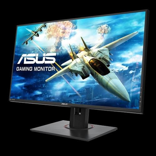 "Monitor 27"" ASUS VG278QF, Gaming, FHS 1920*1080, 16:9, TN, non-glare, 400 cd/mp, 1000:1, 170/160, 1 ms, Flicker free, 165 Hz, Low Blue Light, FreeSync technology supported, HDMI, DP, DVI, earphone, VESA 100x100, Kensington lock, culoare negru - imaginea 2"