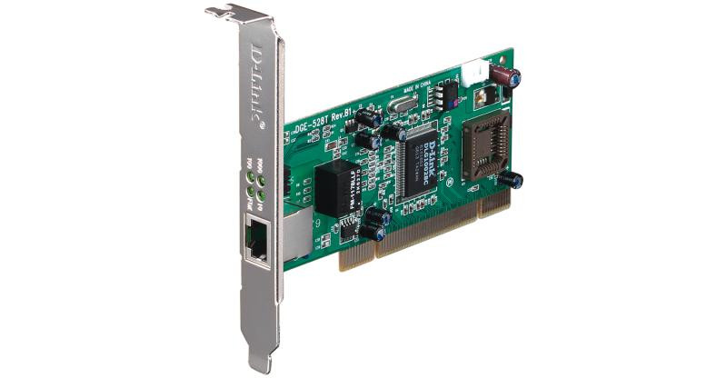 Placa de retea D-Link, PCI, 32bit, Gigabit, Low Profile bracket inclus - imaginea 1