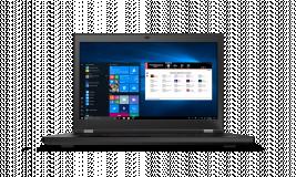 "Laptop Lenovo ThinkPad P17 Gen 1, 17.3"" UHD (3840x2160) IPS 500nits Anti-glare, 100% Adobe, Dolby Vision, HDR, Intel Core i9-10885H (8C / 16T, 2.4 / 5.3GHz, 16MB), Video NVIDIA Quadro RTX 4000 Max-Q 8GB GDDR6, RAM 2x 16GB SO-DIMM DDR4-2933 Non-ECC, SSD 1TB SSD M.2 2280 PCIe NVMe Opal2, Optical: no - imaginea 1"