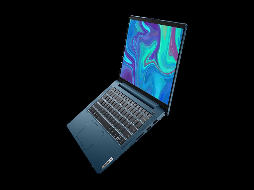 "Laptop Lenovo IdeaPad 5 14ARE05, 14"" FHD (1920x1080) IPS 300nits Anti- glare, 45% NTSC, AMD Ryzen 5 4600U (6C / 12T, 2.1 / 4.0GHz, 3MB L2 / 8MB L3), video Integrated AMD Radeon Graphics, RAM 16GB Soldered DDR4-3200, SSD 512GB SSD M.2 2280 PCIe 3.0x4 NVMe, no ODD, 4-in-1 Card Reader, Stereo speakers - imaginea 7"