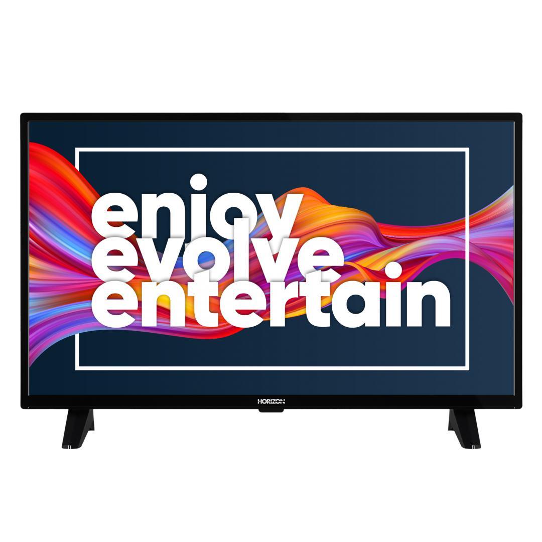 "LED TV HORIZON 32HL6300H/B, 32"" D-LED, HD Ready (720p), Digital TV-Tuner DVB-S2/T2/C, CME 100Hz, Contrast 4000:1, 300 cd/m2, 1xCI+, 2xHDMI (v1.4), 1xD-Sub (15-PIN), USB Player (AVI, MKV, H.265/HEVC, JPEG), Hotel TV Mode (Passive), VESA 75 x 75 mm   M4, Double Neck-Foot Stand, Very Narrow Design - imaginea 2"
