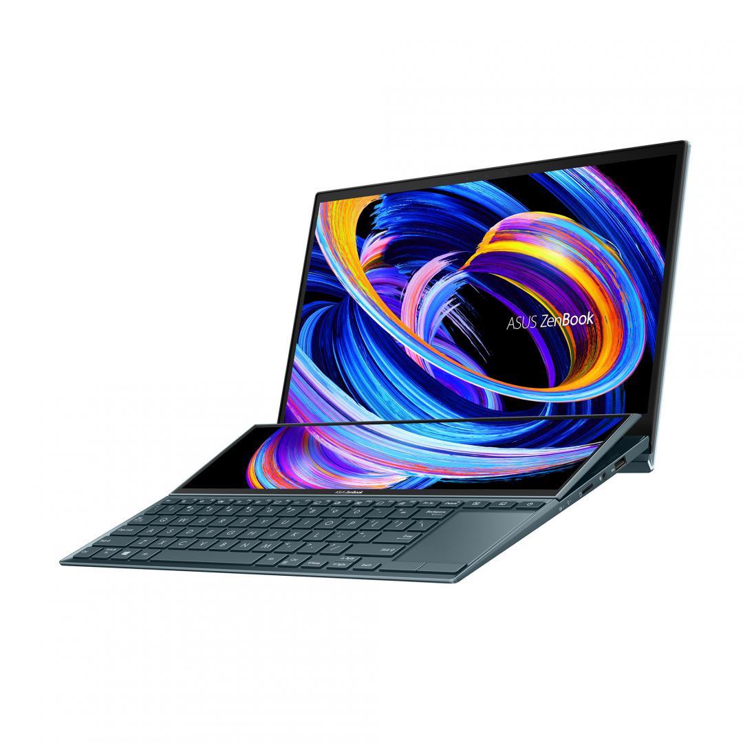 UltraBook ASUS ZenBook DUO, 14-inch, Touch screen, i5-1135G7  8 512 MX450 W10P - imaginea 4