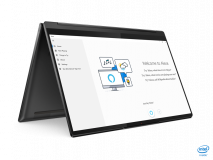"""Laptop Lenovo Yoga 7 14ITL5, 14"""" FHD (1920x1080) IPS 300nits Glossy, 72% NTSC, AGC Dragontrail glass, 10-point Multi-touch, Intel Core i7-1165G7 (4C / 8T, 2.8 / 4.7GHz, 12MB), video Integrated Intel Iris Xe Graphics, RAM 16GB Soldered DDR4-3200, SSD 1TB SSD M.2 2280 PCIe 3.0x4 NVMe, no ODD, No Card - imaginea 8"""