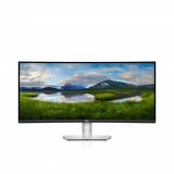 Monitor Dell Curved 34'' S3422DW, 86.42 cm, LED, LCD, WQHD, 3440 x 1440 at 100Hz, 21:9 - imaginea 1