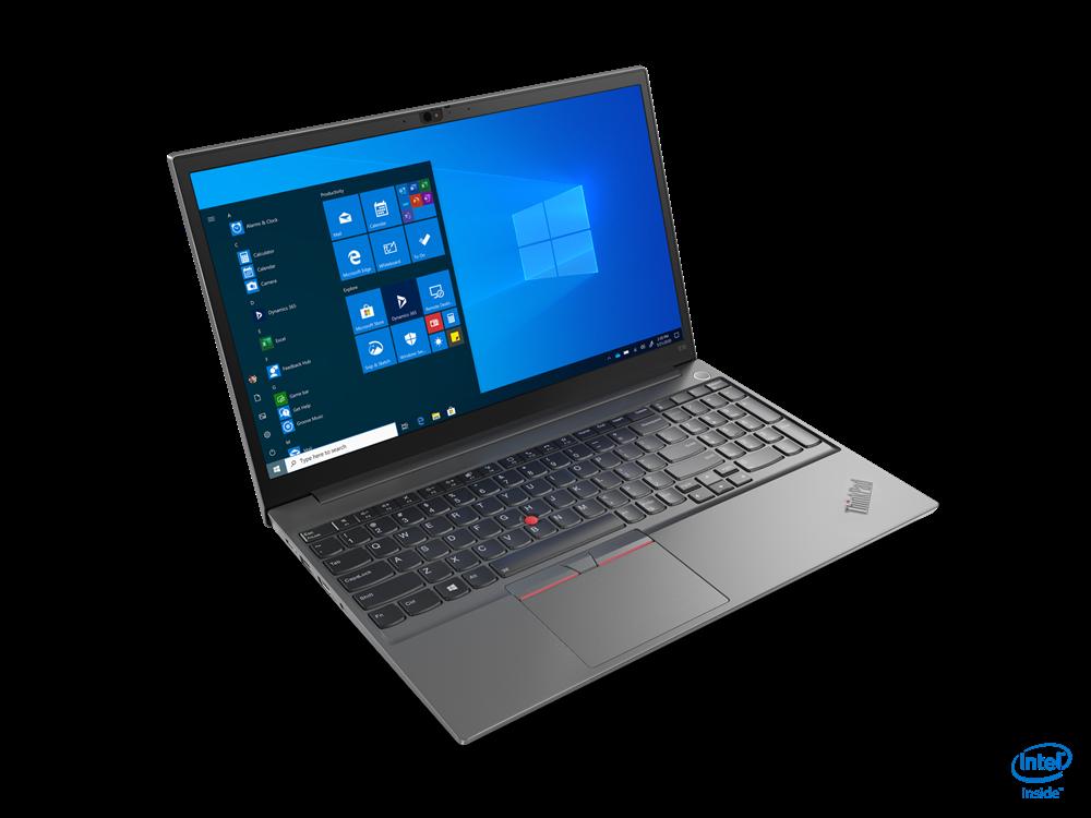 "Laptop Lenovo ThinkPad E15, 15.6"" FHD (1920x1080) WVA 250nits Anti-glare, Intel Core i5-10210U (4C / 8T, 1.6 / 4.2GHz, 6MB), videoIn tegrated Intel UHD Graphics, RAM 8GB SO-DIMM DDR4-2666, SSD 512GB SSDM.2 2242 PCIe NVMe 3.0x4, no ODD, No Card reader, 2W x 2, DolbyAdvanced Audio / dual array - imaginea 2"