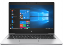 Laptop HP EliteBook 830 G6, 13.3 inch LED FHD Anti-Glare 250 nits (1920x1080), Intel Core i7-8565U Quad Core (1.8GHz, up to 4.6GHz, 8MB), video integrat Intel UHD Graphics, RAM 16GB DDR4 2400MHz (1x16GB), SSD 512GB PCIe NVMe, no ODD, Active SmartCard, Audio Bang & Olufsen, boxe premium integrate - imaginea 1