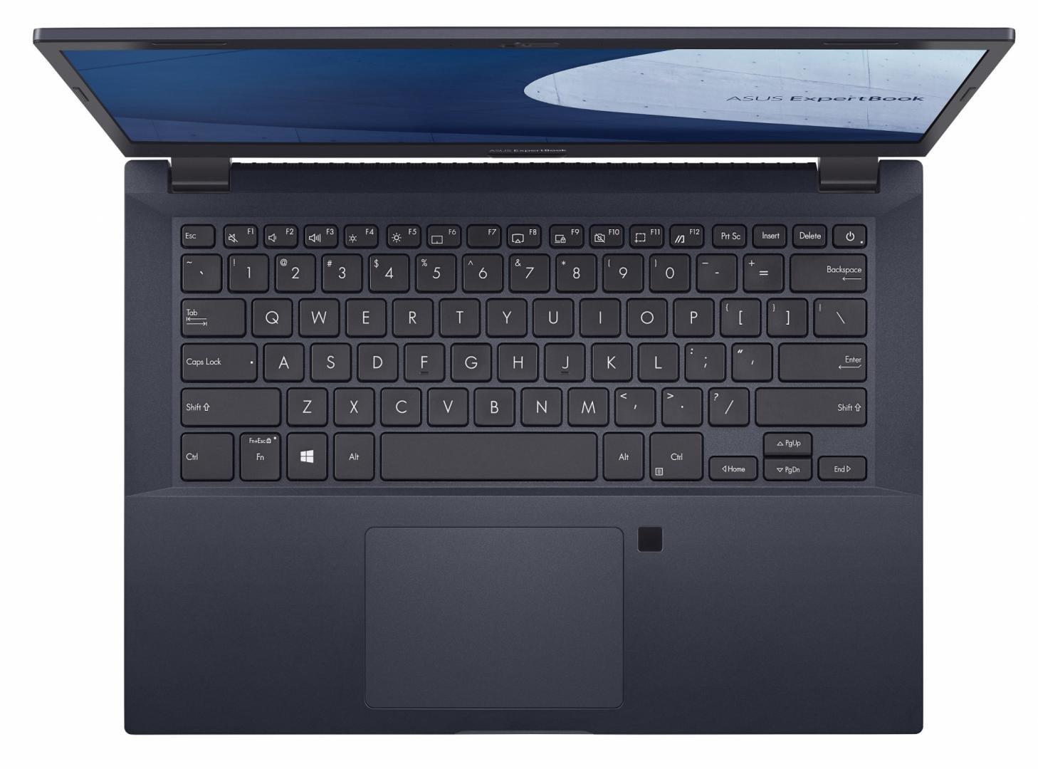 Laptop SMB ASUS ExpertBook P2 P2451FA-EK0174, 14 FHD (1920x1080), Anti- glare (mat), deschidere lid  - imaginea 4