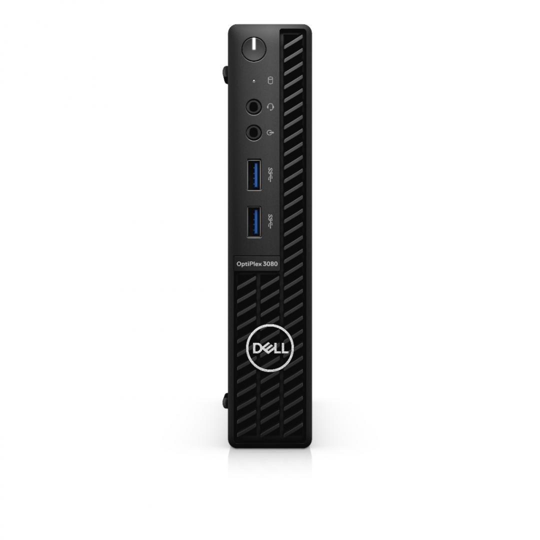Desktop Dell OptiPlex 3080 MFF, i3-10105T, 8GB, 256GB SSD, W10 Pro - imaginea 3
