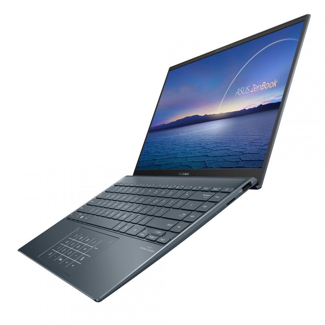 UltraBook ASUS ZenBook UM425QA-KI009T, 14-inch, FHD (1920 x 1080) 16:9, Anti-Glare display, IPS-level Panel, AMD Ryzen(T) 5 5600H Processor 3.0GHz(3M Cache, up to 4.1GHz, 6 cores), AMD Radeon(T) Graphics, 8GB LPDDR4X on board, 512GB M.2 NVMe(T) PCIe(R) 3.0 SSD, 802.11ax+Bluetooth 5.0 (Dual band) - imaginea 7