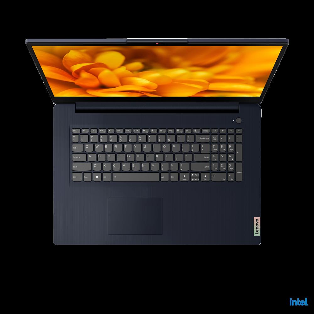 "Laptop Lenovo IdeaPad 317ITL6, 17.3"" FHD (1920x1080) IPS 300nits Anti- glare, 72% NTSC, Intel Core i3-1115G4 (2C / 4T, 3.0 / 4.1GHz, 6MB), video Integrated Intel UHD Graphics, RAM 4GB Soldered DDR4-3200 + 4GB SO-DIMM DDR4-3200, SSD 512GB SSD M.2 2242 PCIe 3.0x4 NVMe, no ODD, 4-in- 1 Card Reader - imaginea 4"