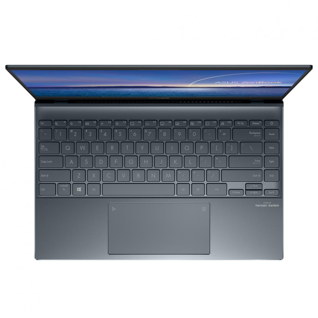 UltraBook ASUS ZenBook  14 UX425EA-KI505, 14.0-inch, FHD (1920 x 1080) 16:9, Anti-glare display, IPS-level Panel, Intel® Core™ i7-1165G7 Processor 2.8 GHz (12M Cache, up to 4.7 GHz, 4 cores), Intel Iris Xᵉ Graphics (available for 11th Gen Intel® Core™ i5/i7 with dual channel memory), 16GB LPDDR4X on - imaginea 2