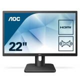 "Monitor 21.5"" AOC 22E1D, FHD 1920*1080, 60 Hz, WLED, TN, 16:9, 2 ms, 250cd/mp, 1000:1/ 20M:1, 170/16 - imaginea 2"