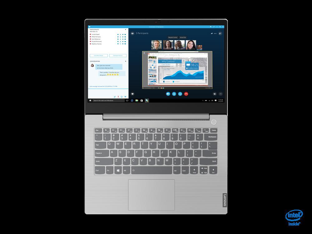 """Laptop ThinkBook 14 IIL, 14"""" FHD (1920x1080) I5-1035G1 8GB 256GB 1YD W10P - imaginea 8"""