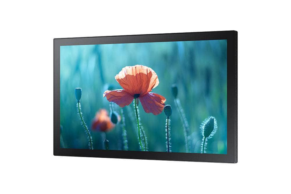 "Ecran Interactiv Monitor Touch Capacitiv Samsung QB13R, 13"" (33cm), FHD, Operare 16/7, Luminozitate 250nit, Timp Raspuns 8ms, Contrast 600:1, Haze 10%, Tizen 4.0, MagicINFO S6, [...]; Conectivitate: WiFi; INPUT: 1xHDMI 1.4, HDCP2.2, 1xUSB2.0, 1xLAN, 1xRS232C, Audio In; OUTPUT: Audio Out Stereo Mini - imaginea 1"