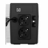 UPS nJoy Cadu 850, 850VA/480W, Afisaj LCD cu ecran tactil, 2 x prize Schuko - imaginea 2