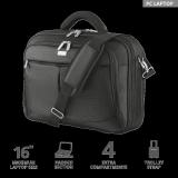 "Geanta Trust Sydney Carry Bag for 16"" laptops - black - imaginea 2"