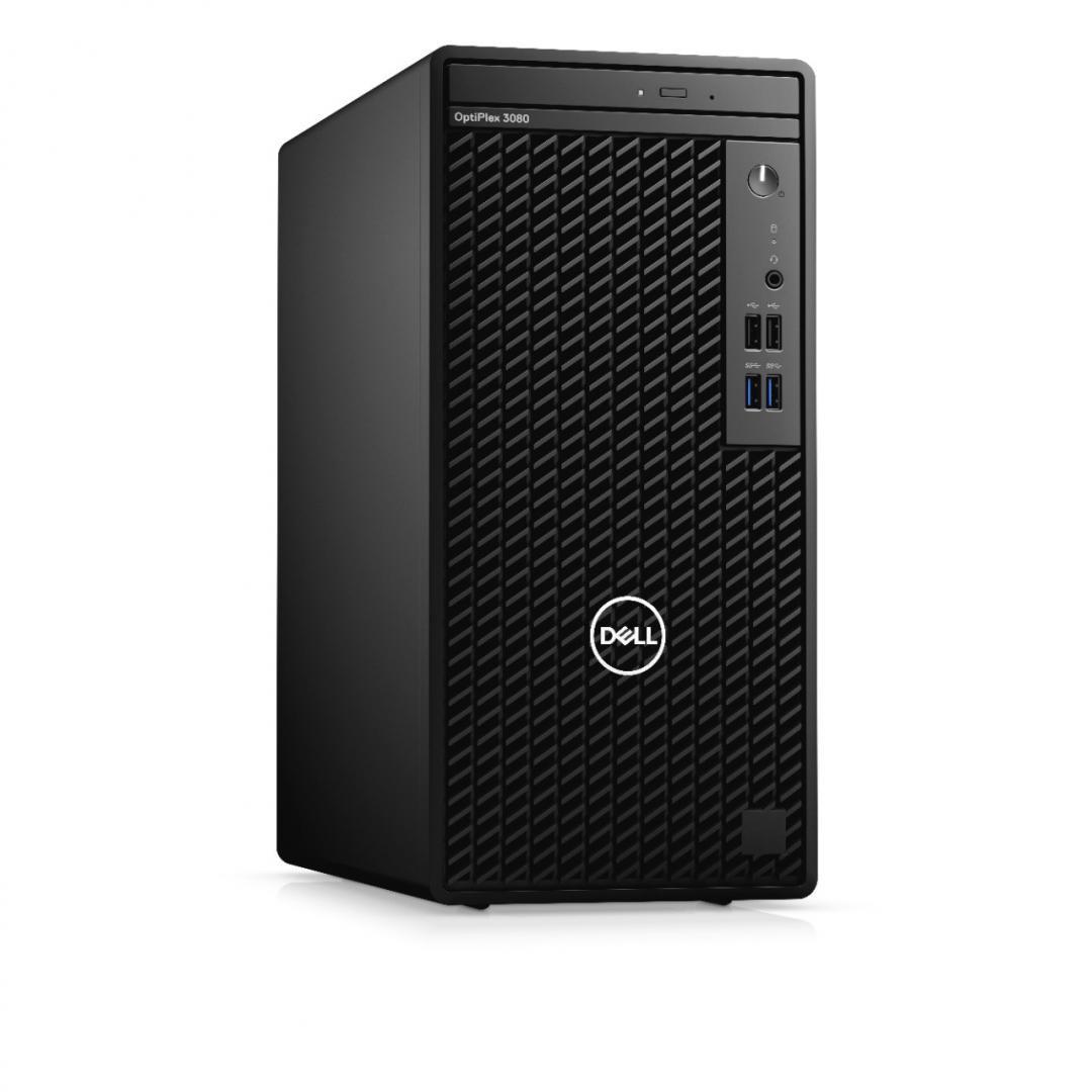 Desktop Dell OptiPlex 3080 MT, i5-10505, 8GB, 256GB SSD, W10 Pro - imaginea 3