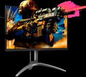 "Monitor 27"" AOC AG273QZ, Gaming, TN, 16:9, WQHD 2560x1440, 240 Hz, WLED, 0.5 ms, 400 cd/m2, 170/160, - imaginea 3"