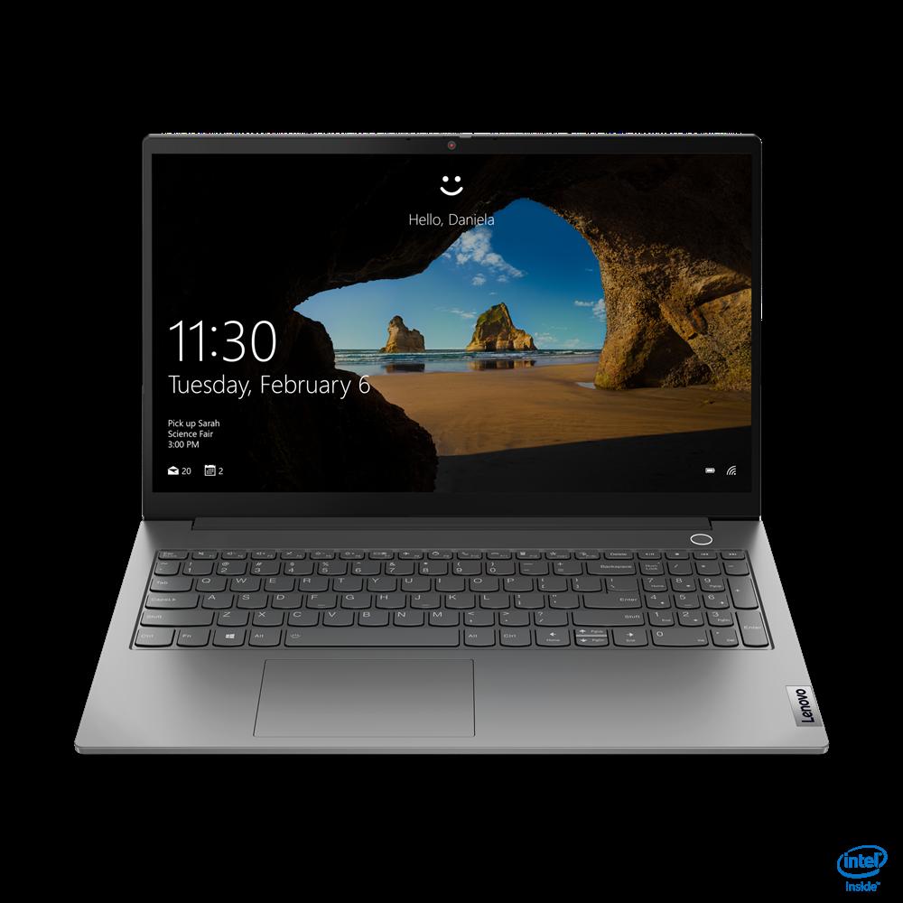 "Laptop Lenovo ThinkBook 15 G2 ITL, 15.6"" FHD (1920x1080) i3-1115G4 8GB 256GB 1YD DOS - imaginea 1"