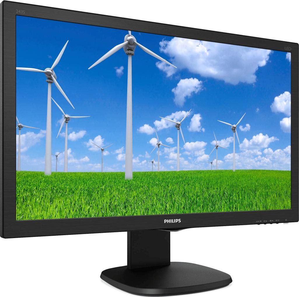 "Monitor 23.6"" PHILIPS 243S5LHMB, TN, WLED, FHD 1920*1080, 60 Hz, Anti- Glare, 3H, Haze 25%, 16:9, 1 - imaginea 3"