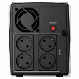 UPS NJOY Keen 2000, 2000VA/1200W, Line-interactive, 4 Prize Schuko cu Protectie, Repornire Automata, Reglaj Automat al Tensiunii - imaginea 2