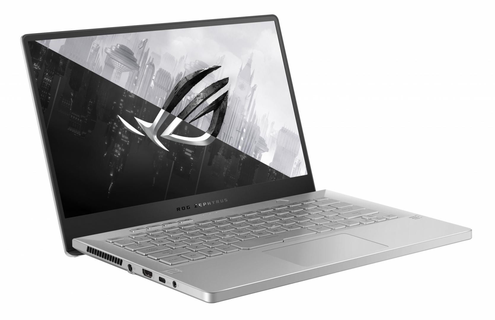 Laptop Gaming ASUS ROG Zephyrus G14 GA401QE-HZ052T, 14-inch, FHD (1920 x 1080) 16:9, Anti-glare display, IPS-level, AMD Ryzen™ 7 5800HS Processor 3.0GHz(16MCache,upto4.3GHz), NVIDIA®GeForceRTX™3050Ti Laptop GPU, 8GB DDR4 on board + 8GB DDR4-3200 SO-DIMM, 512GB M.2 NVMe™ PCIe® 3.0 SSD - imaginea 3