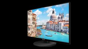 "Monitor Hikvision DS-D5027UCLED 27"" 4K, LED Backlight, rezolutie:3840× 2160@60Hz, Wide view: Horizontal/vertical 178 grade, timp de rapsuns: 14ms, luminozitate: 350 cd/m*2, contrast: 1000:1, interfate: HDMI 2.0 x 1, DP x 1, Audio input x 1; Loudspeaker: 2 x 2W, culoare neagra, VESA standard - imaginea 1"