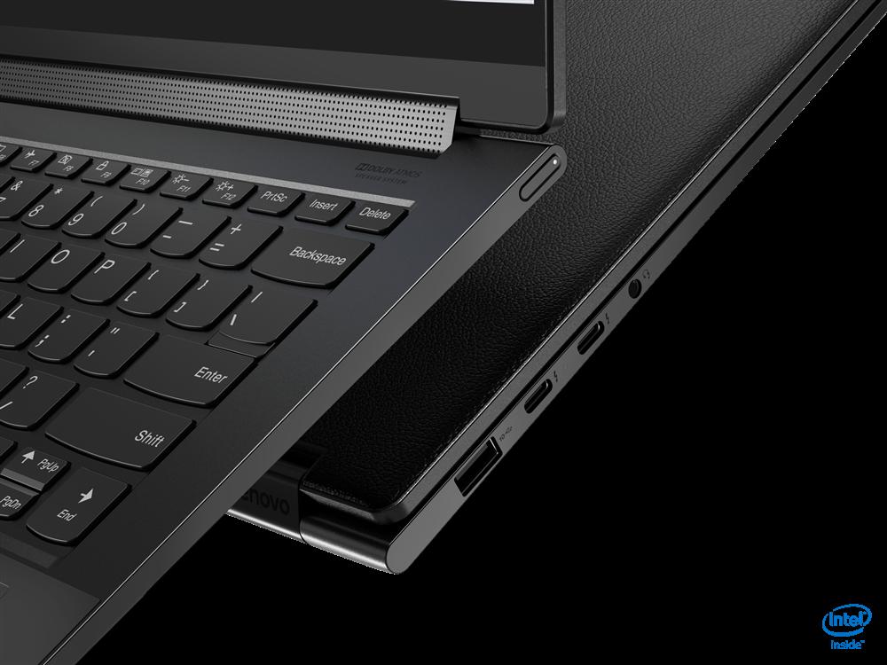 "Laptop Lenovo Yoga 9 14ITL5, 14"" UHD (3840x2160) IPS 500nits Glossy, Glass, 90% DCI-P3, VESA HDR 400, 10-point Multi-touch, Intel Core i7- 1185G7 (4C / 8T, 3.0 / 4.8GHz, 12MB), video Integrated Intel Iris Xe Graphics, RAM 16GB Soldered LPDDR4x-4266, SSD 1TB SSD M.2 2280 PCIe 3.0x4 NVMe, no ODD, No - imaginea 5"