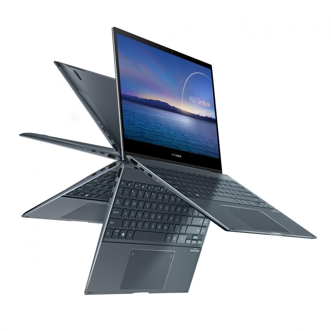 UltraBook ASUS ZenBook FLIP, 13.3-inch, Touch screen, i7-1165G7  16 1 UMA W10P - imaginea 3