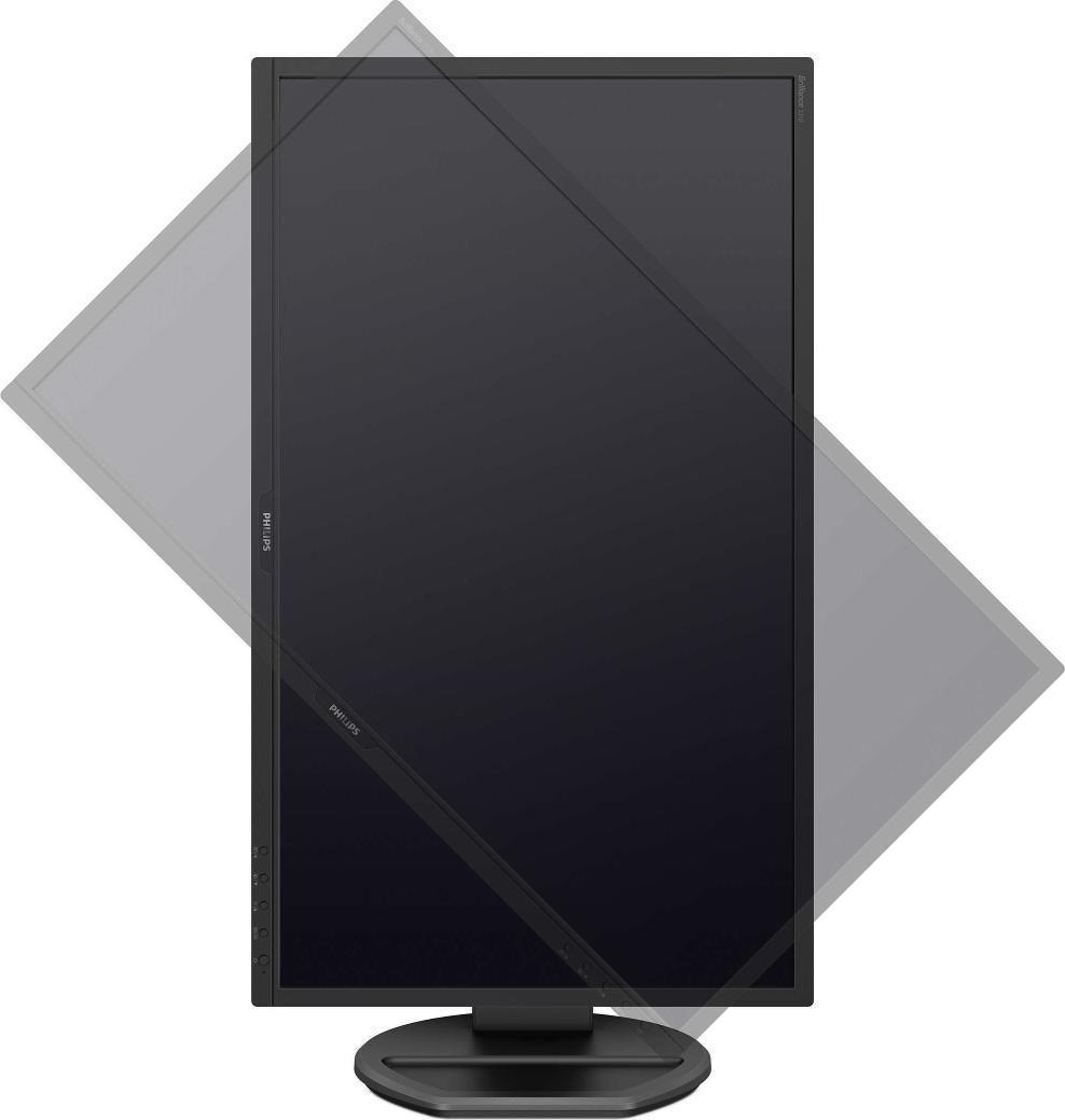 "Monitor 21.5"" PHILIPS 221B8LJEB, TN, WLED, Anti-Glare, 3H, Haze 25%, 16:9, FHD 1920*1080, 60 Hz, 1 m - imaginea 2"